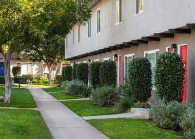 Walkway in front of walkway